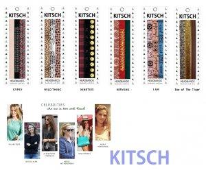Kitsch(キッチュ)ヘアバンド3本セット/ヘッドバンド/ヘアアクセ/HEADBANDS<img class='new_mark_img2' src='https://img.shop-pro.jp/img/new/icons16.gif' style='border:none;display:inline;margin:0px;padding:0px;width:auto;' />