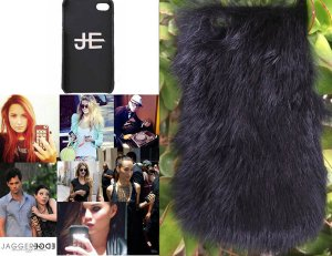 【iPhone6ケース】ジャガーエッジ(Jagger Edge)ラビットファーiPhone6ケース/IPHONE COVER BLACK FUR(ブラック)<img class='new_mark_img2' src='https://img.shop-pro.jp/img/new/icons16.gif' style='border:none;display:inline;margin:0px;padding:0px;width:auto;' />