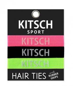 Kitsch(キッチュ)Sport ネオンカラーヘアアクセサリー3本セット/ヘアゴム/ブレスレット/Hair Ties<img class='new_mark_img2' src='https://img.shop-pro.jp/img/new/icons16.gif' style='border:none;display:inline;margin:0px;padding:0px;width:auto;' />
