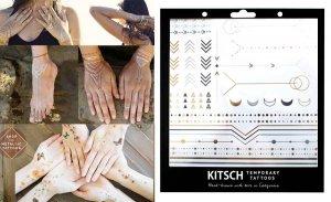 フラッシュタトゥー/Kitsch(キッチュ)タトゥーシール/テンポラリータトゥー/メタリック/Geo Metallic Tattoos Set 1<img class='new_mark_img2' src='https://img.shop-pro.jp/img/new/icons16.gif' style='border:none;display:inline;margin:0px;padding:0px;width:auto;' />