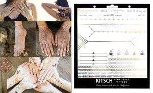 フラッシュタトゥー/Kitsch(キッチュ)タトゥーシール/テンポラリータトゥー/メタリック/Geo Metallic Tattoos Set 3<img class='new_mark_img2' src='https://img.shop-pro.jp/img/new/icons16.gif' style='border:none;display:inline;margin:0px;padding:0px;width:auto;' />