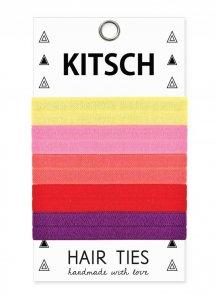 Kitsch(キッチュ)Passion Fruit トロピカルカラーヘアアクセサリー5本セット/ヘアゴム/ブレスレット/Hair Ties<img class='new_mark_img2' src='https://img.shop-pro.jp/img/new/icons16.gif' style='border:none;display:inline;margin:0px;padding:0px;width:auto;' />