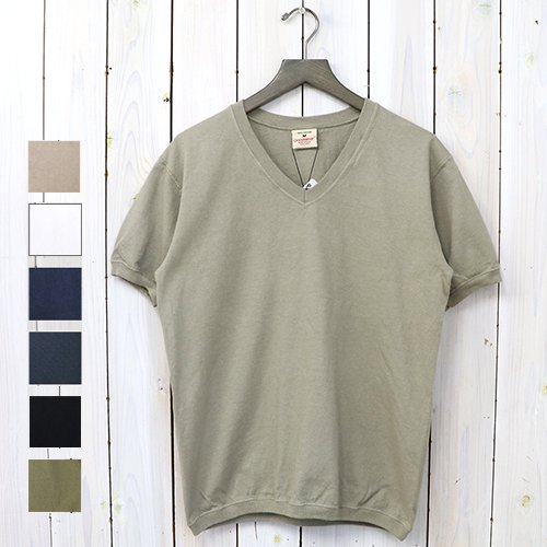 【SALE特価40%off】Goodwear『V-NECK S/S T-SHIRTS with CUFF AND HEM RIB』