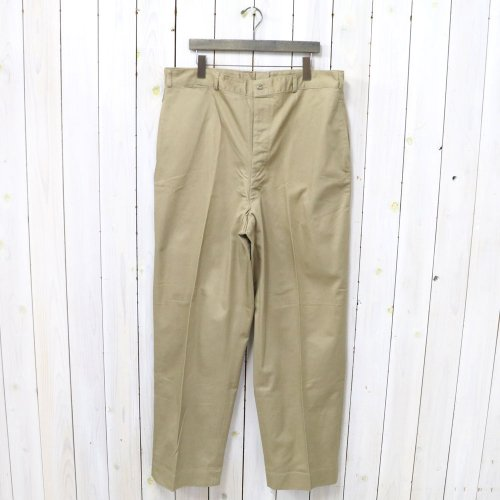 DEAD STOCK『U.S. NAVY OFFICER CHINO TROUSERS』
