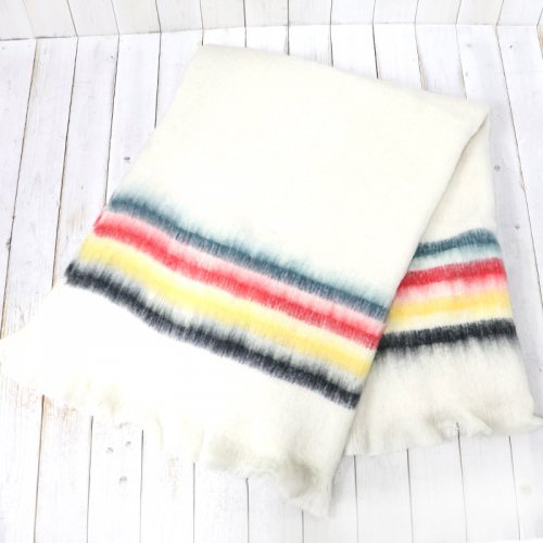 PENDLETON『Brushed Throw Blanket』(Glacier)