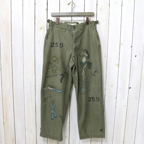 SHANANA MIL『GYPSY HAND PAINT SAILOR M-45 FIELD PANTS-30inch』