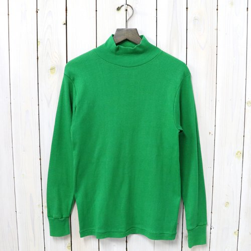 MILITARY USED『MOCK NECK L/S』(GREEN)