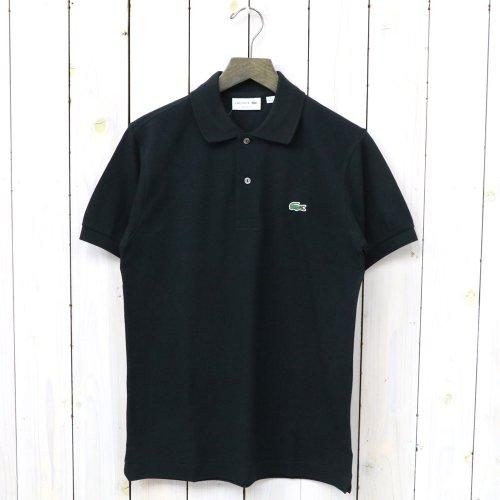 LACOSTE『ポロシャツ(半袖)』(ブラック)