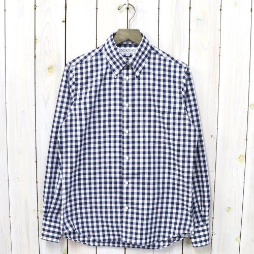 INDIVIDUALIZED SHIRTS『BIG GINGHAM CHECK-Limited』(NAVY)