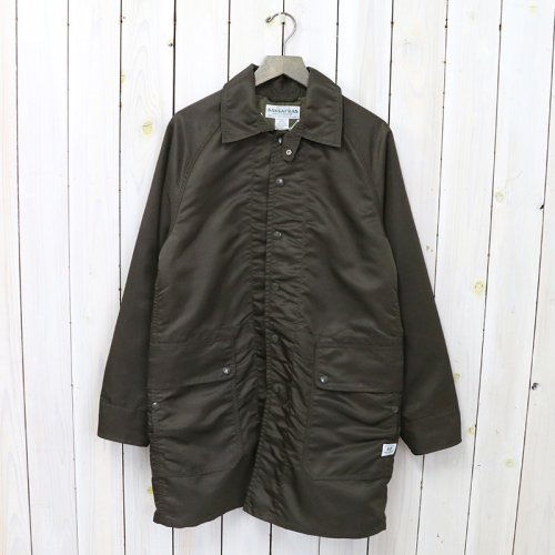 SASSAFRAS『FALL LEAF COAT +(NYLON TWILL)』(OLIVE)