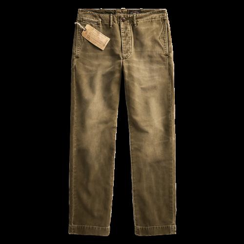 【SALE特価50%off】Double RL『MOLESKIN PANTS』(OLIVE)