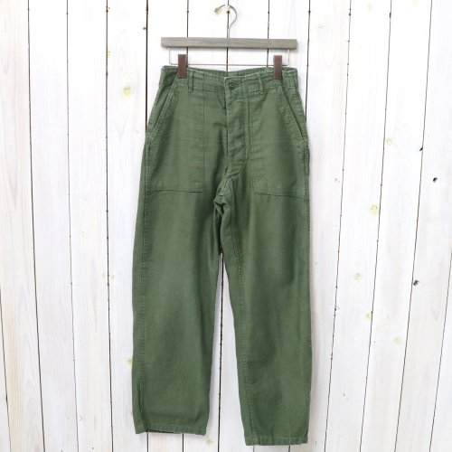 MILITARY USED『BAKER PANTS-1960's 前期』