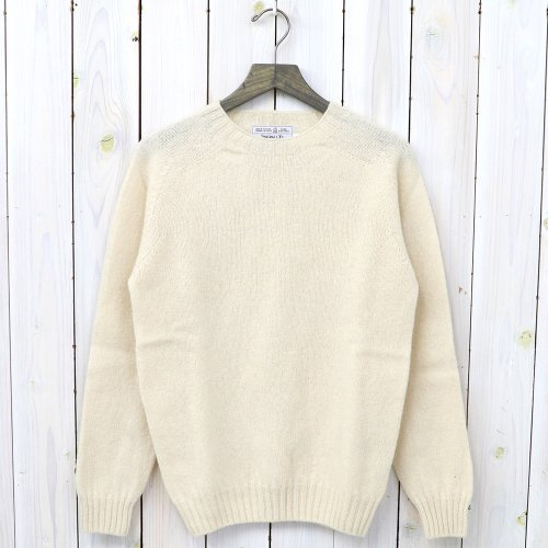 INVERALLAN『Crew Neck Sweater-Saddle』(Cream)