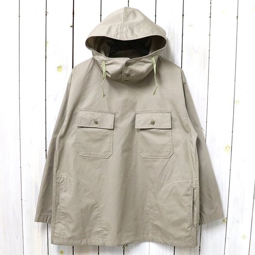 ENGINEERED GARMENTS『Cagoule Shirt-High Count Twill』(Khaki)