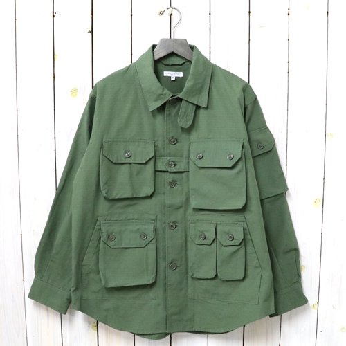 ENGINEERED GARMENTS『Explorer Shirt Jacket-Cotton Ripstop』