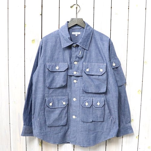 ENGINEERED GARMENTS『Explorer Shirt Jacket-Cotton Chambray』