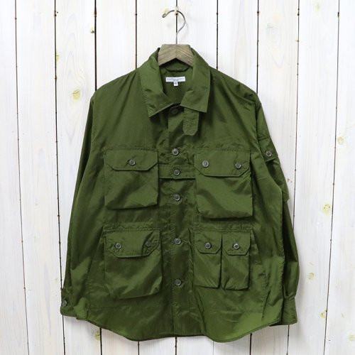 ENGINEERED GARMENTS『Explorer Shirt Jacket-Nylon Micro Ripstop』(Olive)