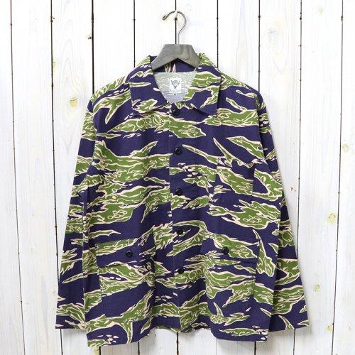 SOUTH2 WEST8『Hunting Shirt-Flannel Pt.』(Tiger)