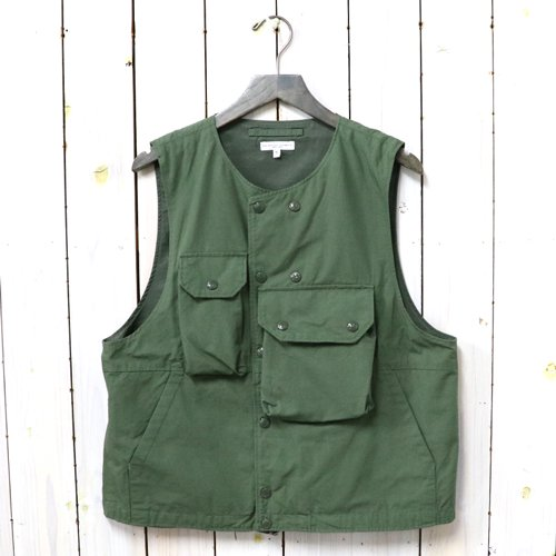 ENGINEERED GARMENTS『Cover Vest-Cotton Ripstop』