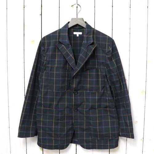 ENGINEERED GARMENTS『NB Jacket-Polyester Rayon Glen Plaid』(Dk.Brown)
