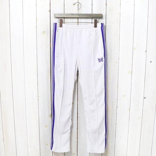 Needles『Narrow Track Pant-C/Pe Velour』(White)