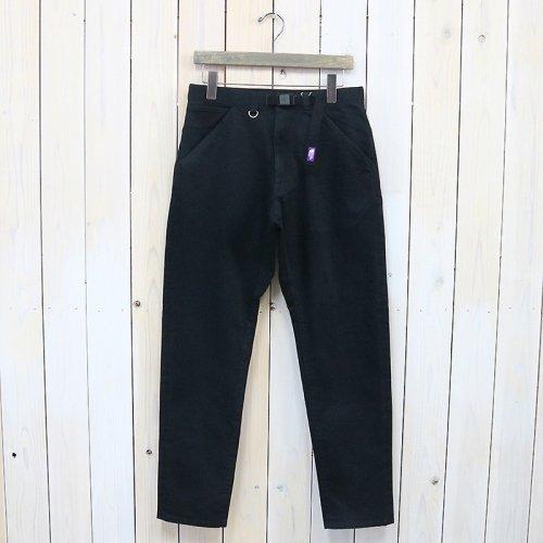 THE NORTH FACE PURPLE LABEL『Webbing Belt Denim Pants』(Black)