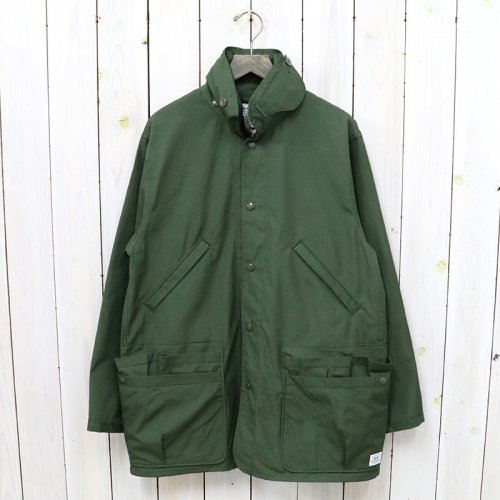 SASSAFRAS『OVERGROWN COAT(WEATHER)』(OLIVE)