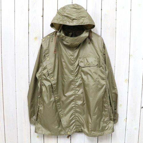 【SALE特価50%off】ENGINEERED GARMENTS『Sonor Shirt Jacket-Polyester Taffeta』(Khaki)