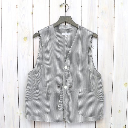 ENGINEERED GARMENTS『Upland Vest-Seersucker Stripe』