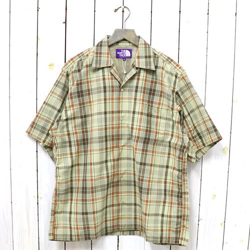 THE NORTH FACE PURPLE LABEL『Madras Field H/S Shirt』(Beige)