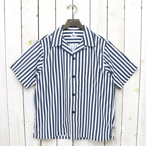 CORONA『FRENCH CAFE SHIRT S/S』(NAVY/WHITE)