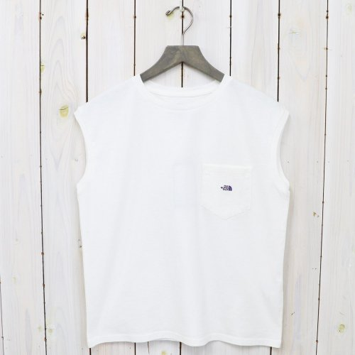 THE NORTH FACE PURPLE LABEL『7oz N/S Pocket Tee』(Off White)