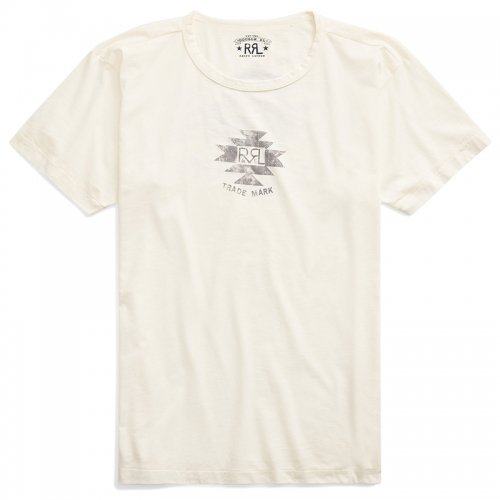 Double RL『JERSEY GRAPHIC T-SHIRT』(NATURAL)