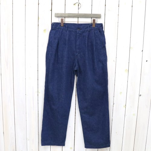orSlow『TWO TUCK DENIM WIDE TROUSER』(ONE WASH)