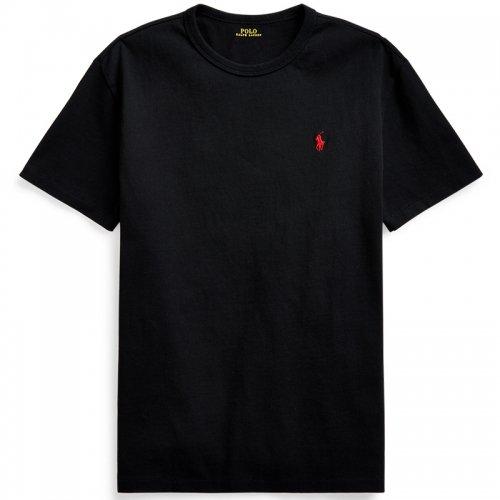 POLO RALPH LAUREN『クラシックフィット クルーネック Tシャツ』(BLACK)