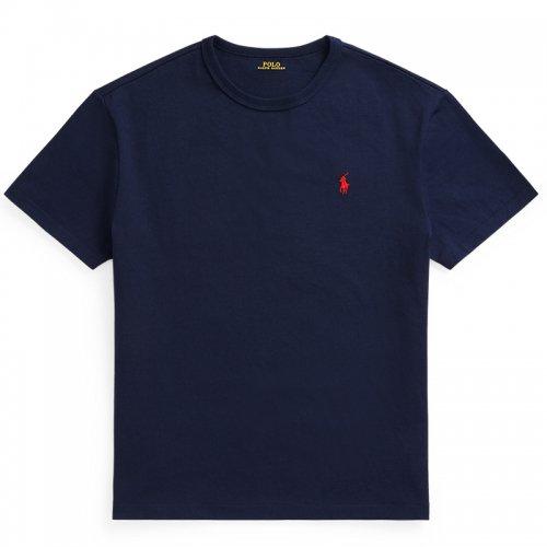 POLO RALPH LAUREN『クラシックフィット クルーネック Tシャツ』(NAVY)