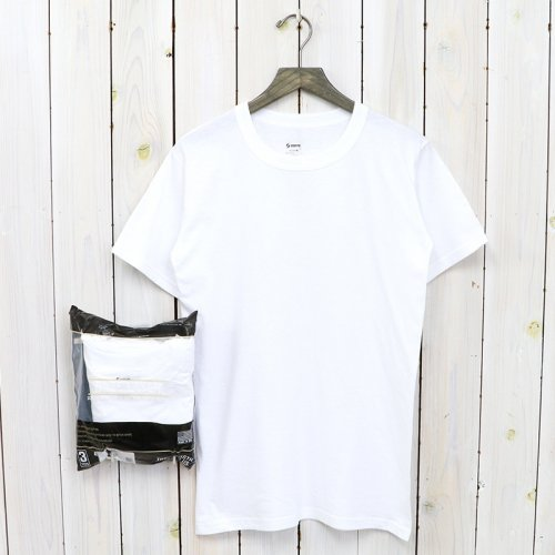SOFFE『MILITARY 3 PACK TEE』(WHITE)