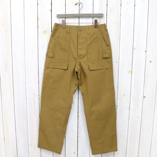 SASSAFRAS『GARDEN TOUGH PANTS(CANVAS)』(DARK KHAKI)