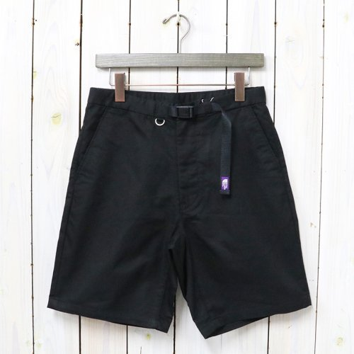 THE NORTH FACE PURPLE LABEL『Stretch Twill Shorts』(Black)