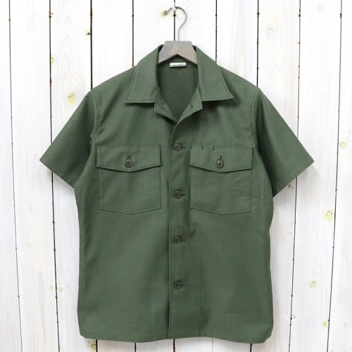 The REAL McCOY'S『COTTON SATEEN SHIRT S/S』