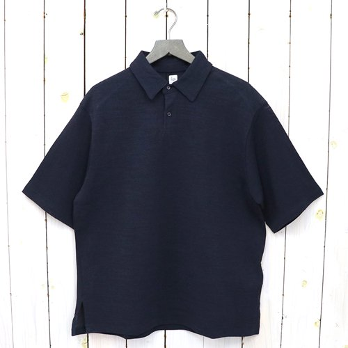 Kaptain Sunshine『Washi Polo Shirt』(NAVY)