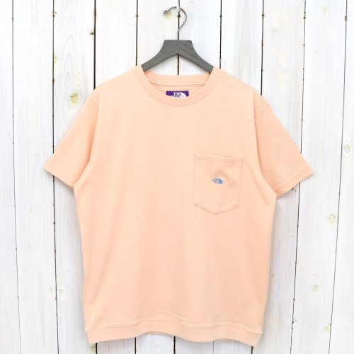 THE NORTH FACE PURPLE LABEL『High Bulky H/S Pocket Tee』(Salmon Pink)