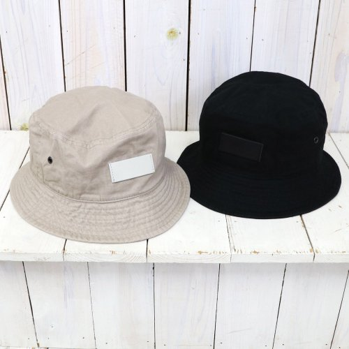 hobo『Cotton Twill Bucket Hat』