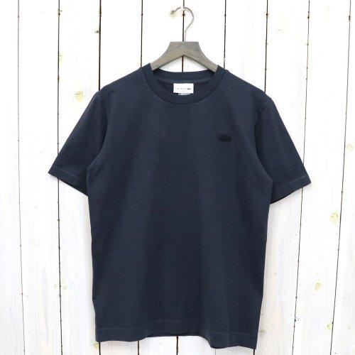 LACOSTE『ピグメントTシャツ』(ブラック)