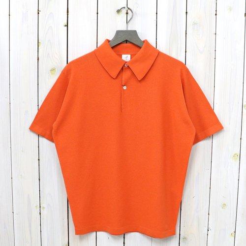 ANATOMICA『KNIT POLO S/S』(Orange)