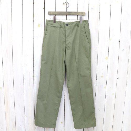 WAREHOUSE『Lot 1217 M-42 TYPE U.S.ARMY HBT PANTS』(ODグリーン)