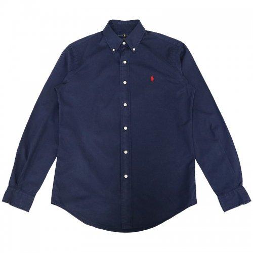 POLO RALPH LAUREN『カスタムフィット ボタンダウン コットンツイルシャツ』(CRUISE NAVY)