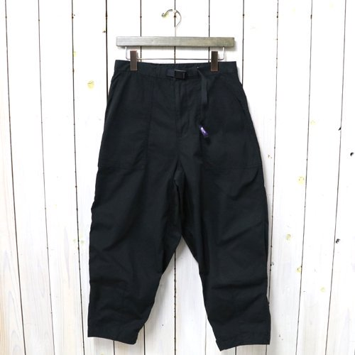THE NORTH FACE PURPLE LABEL『Ripstop Wide Cropped Pants』(Black)
