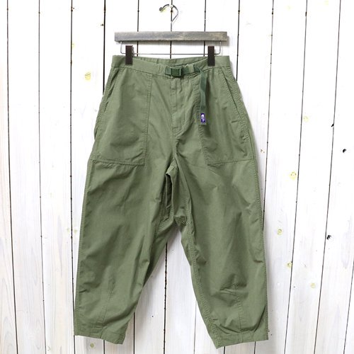 THE NORTH FACE PURPLE LABEL『Ripstop Wide Cropped Pants』(Khaki)