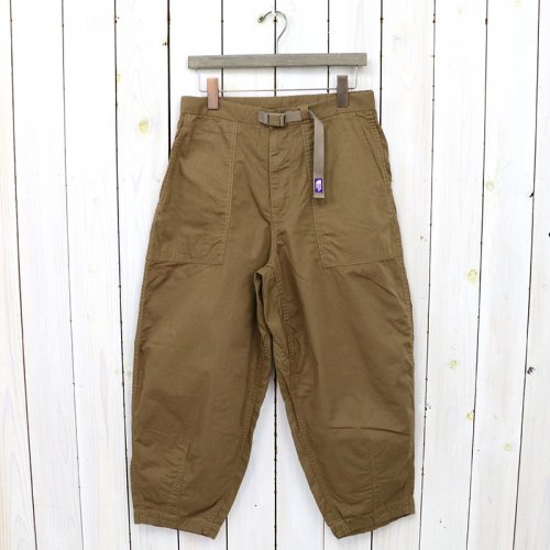 THE NORTH FACE PURPLE LABEL『Ripstop Wide Cropped Pants』(Coyote)